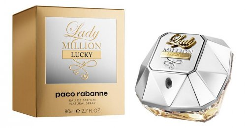 Версія аромату Paco Rabanne Lady Million Lucky