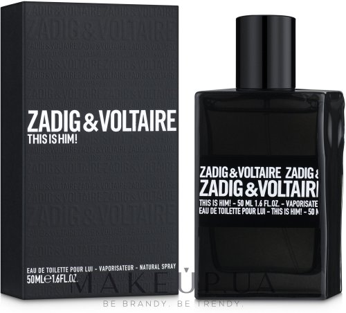 Версия аромата Zadig & Voltaire This is Him